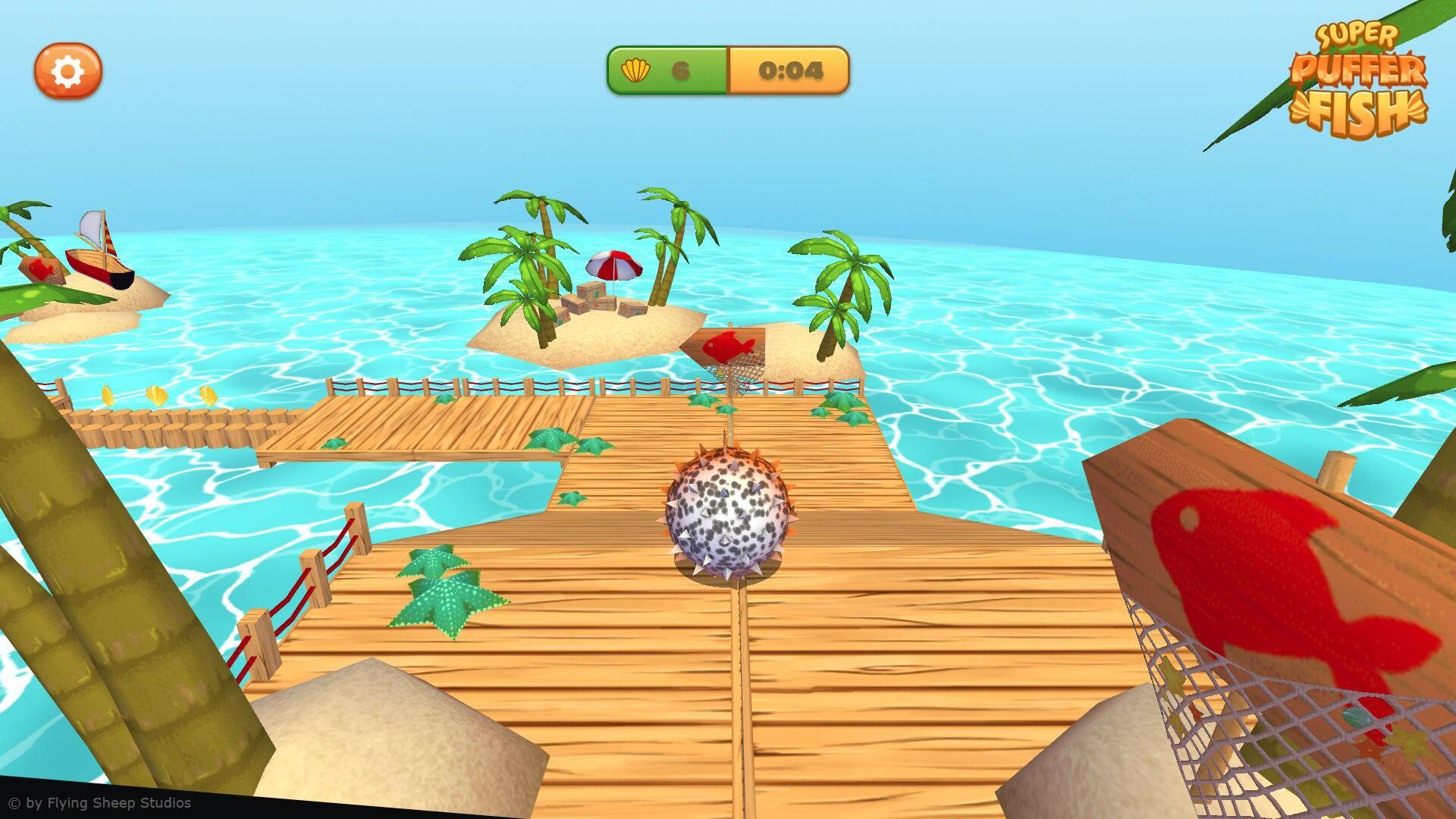 Marina hahn pufferfish screenshot 2