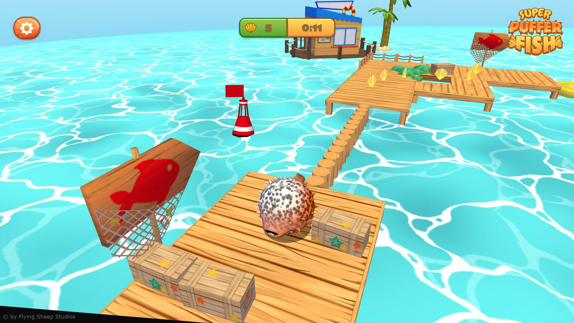Marina hahn pufferfish screenshot 4
