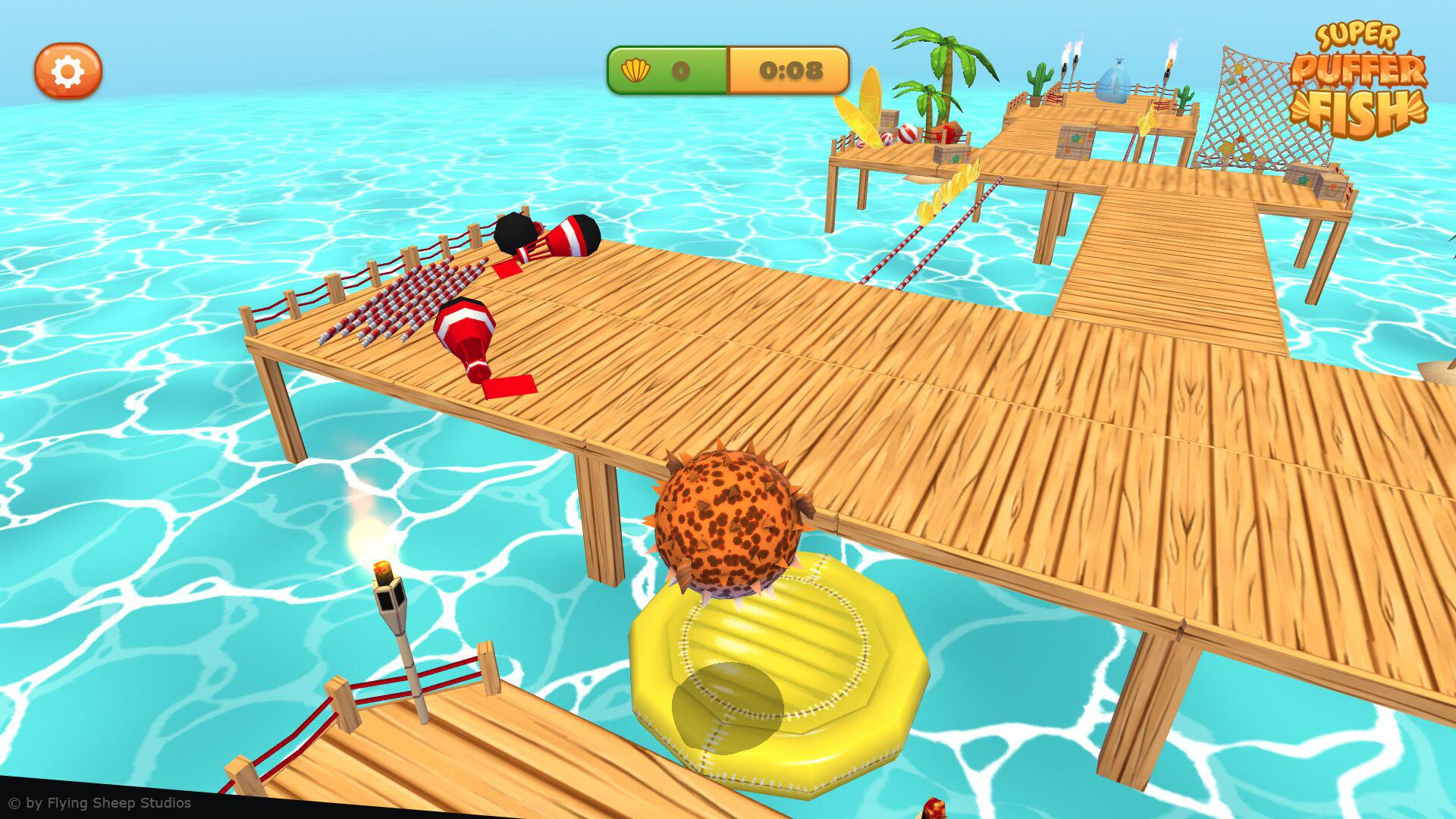 Marina hahn pufferfish screenshot 5