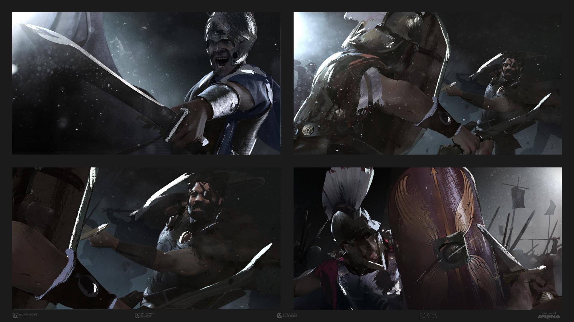 ArtStation - Storyboarding for Total War Arena OBT Trailer