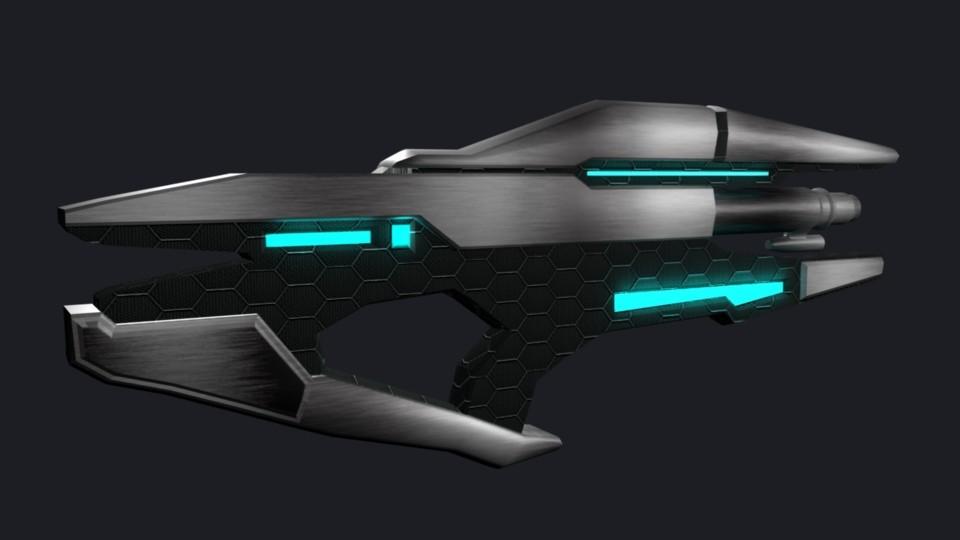 Alien Laser Gun