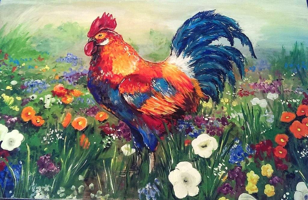 Katia gagne rooster by katia gagne d9rhgws