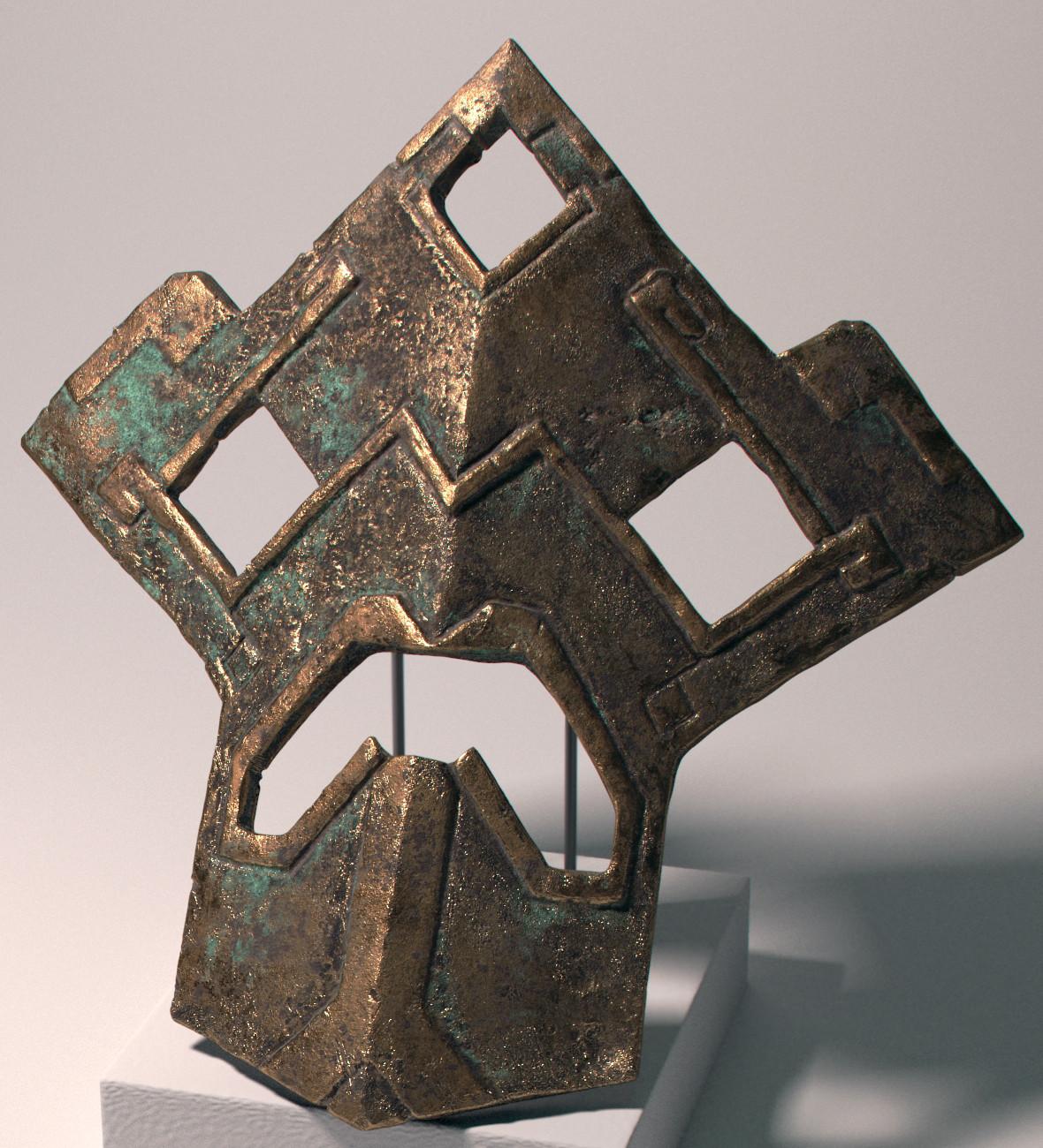 Xabier urrutia bronzemask006