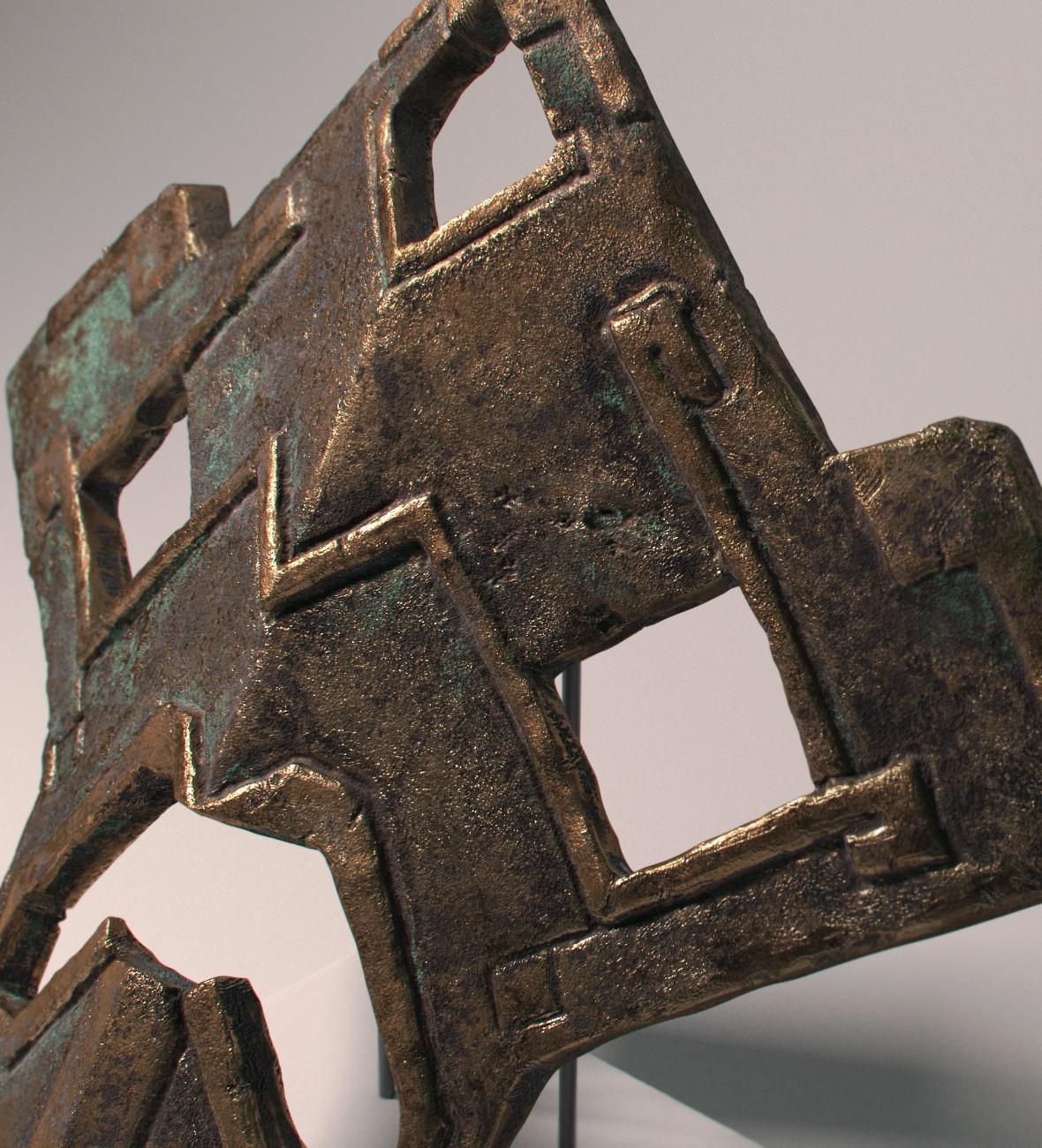 Xabier urrutia bronzemask008