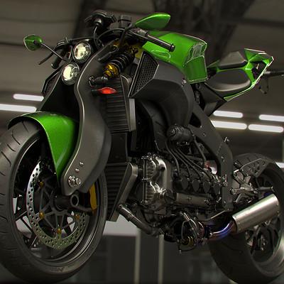 Ying te lien green monster 001