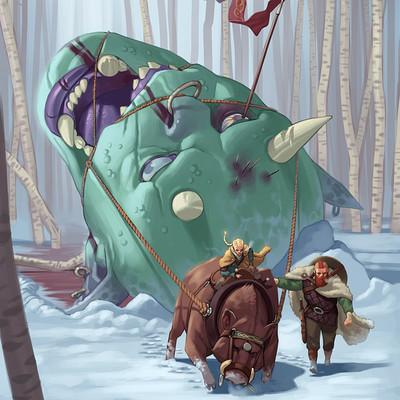 Cole marchetti viking troll hunter