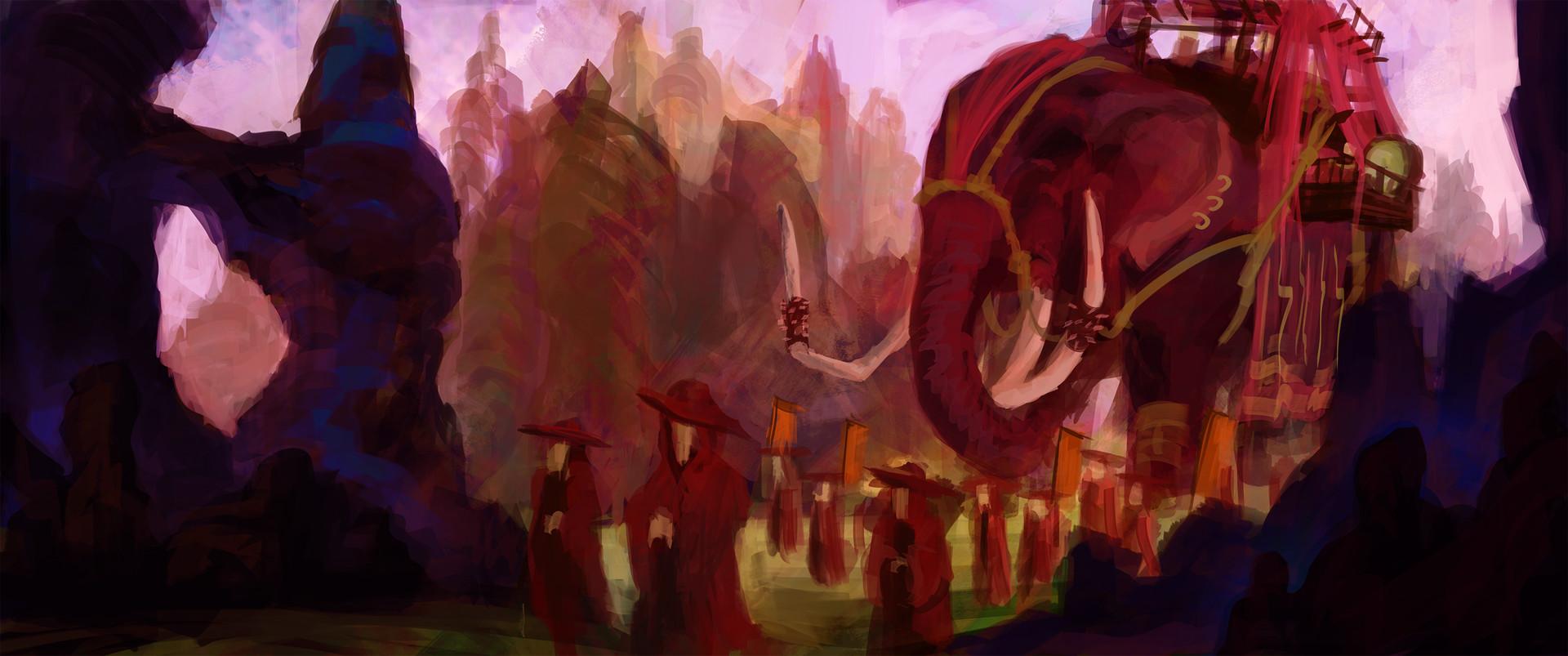 Jack dowell war elephant finished no 2 s