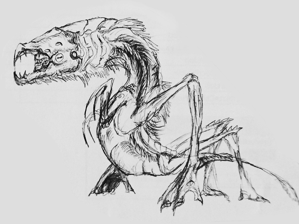 Initial sketch / idea