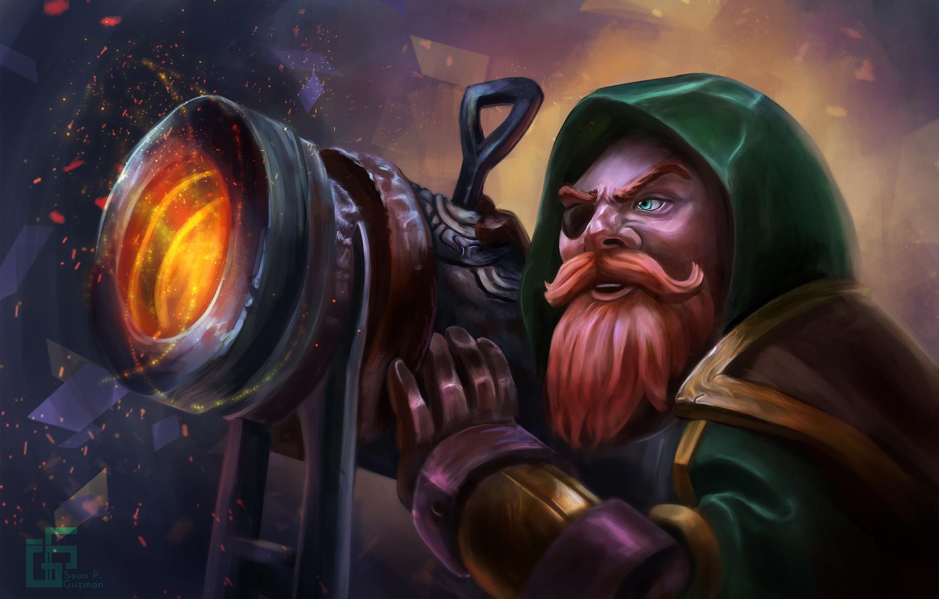 Sean guzman dwarf cannoneer spg