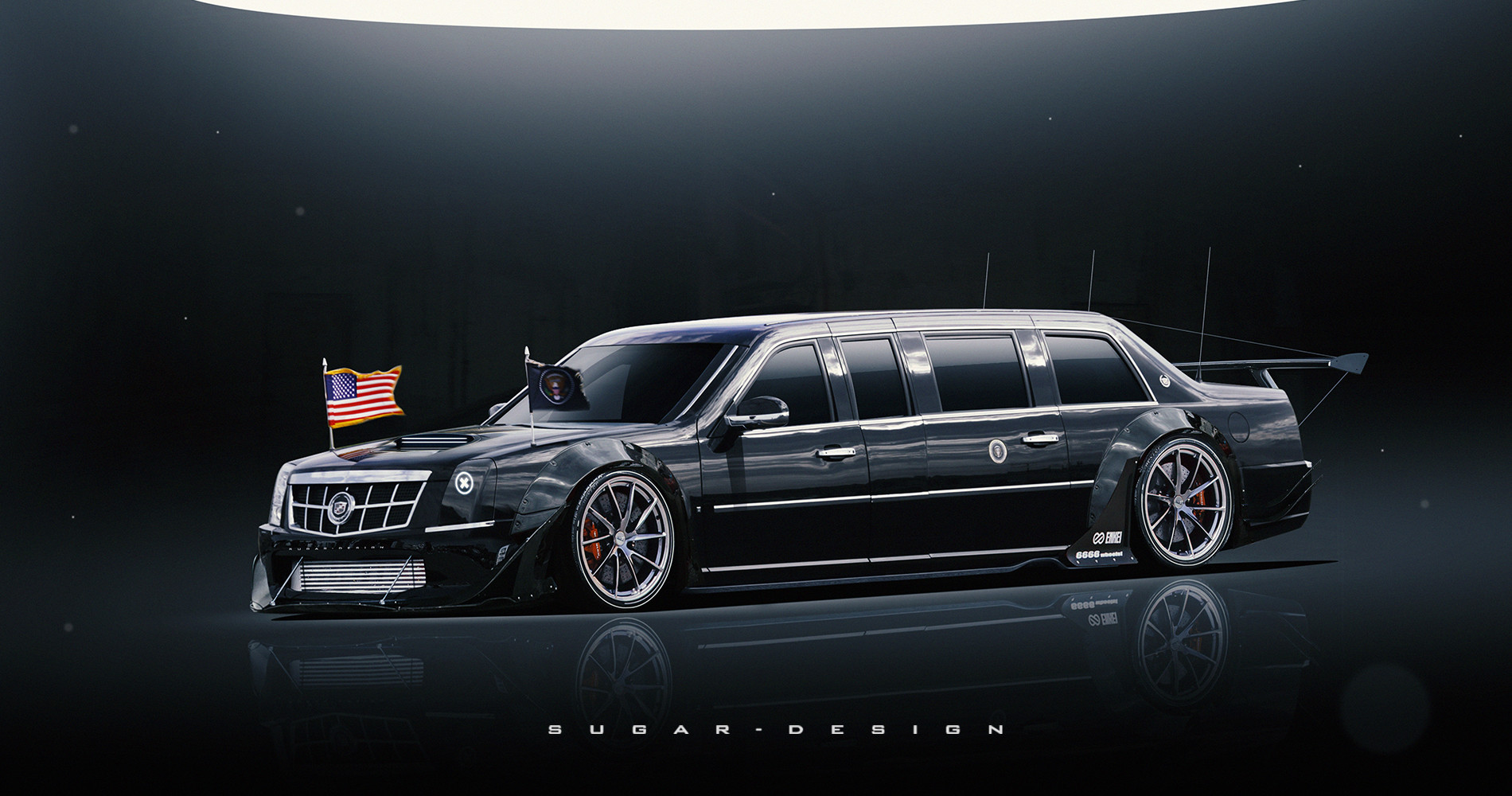 Cadillac  Presidential  State Rocket Bunny