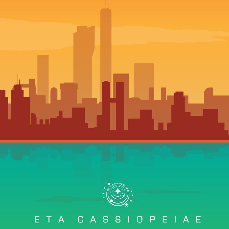 Elite Dangerous - ETA Cassiopeiae