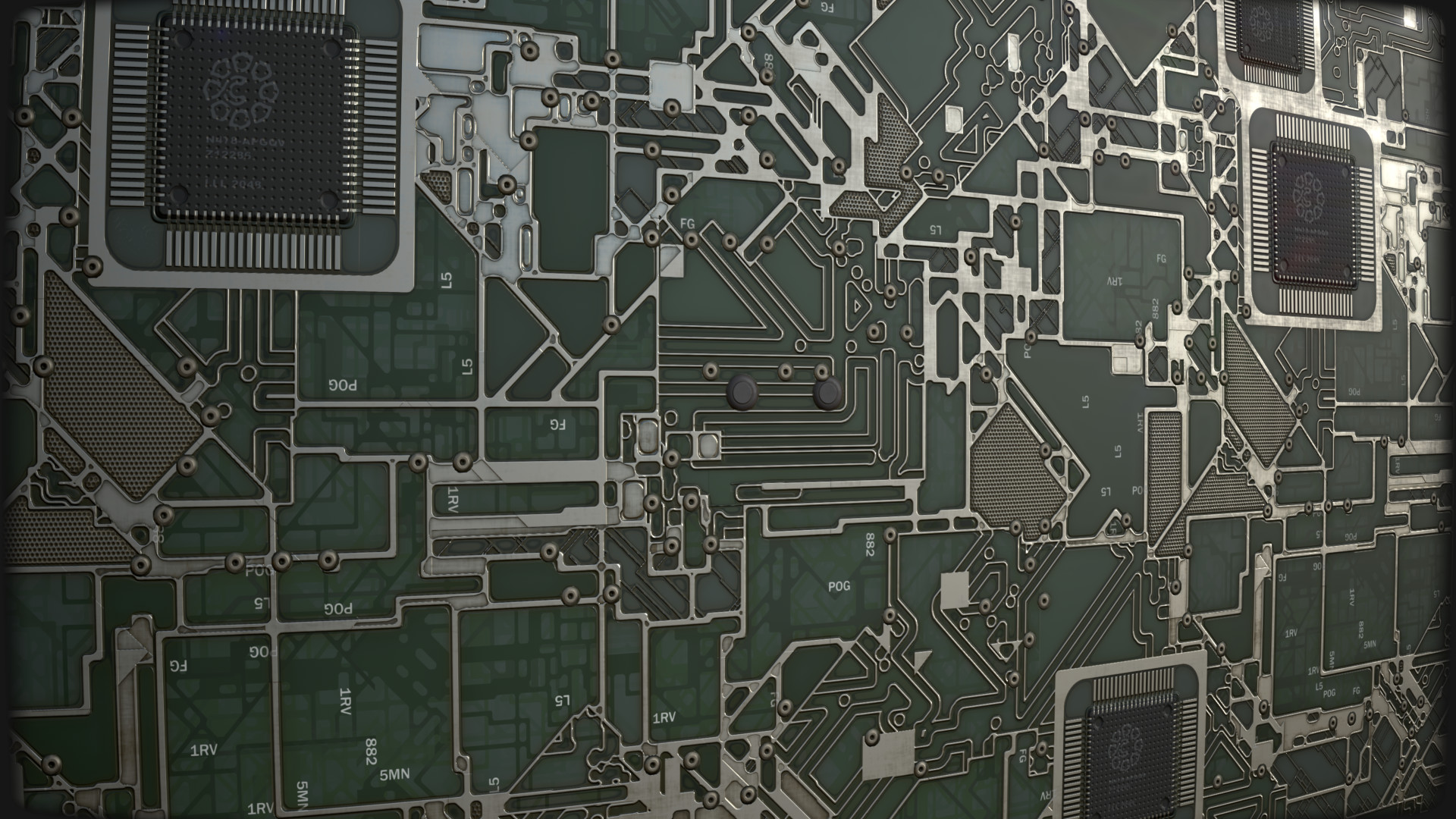 Artstation Circuit Board Substance Matthias Schmidt The Somebody Asked How I Made Lines Its Basicly Just Edge Detect From A Tile Sampler Input With Bit Of Tweaking And Blending