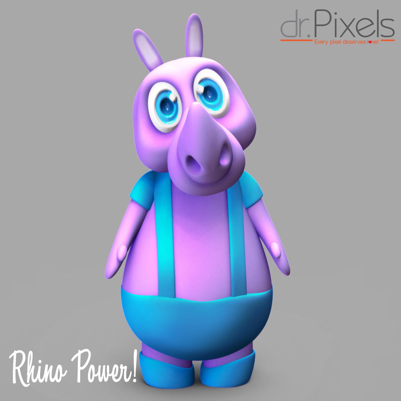 Rafael a pena maduro rhino