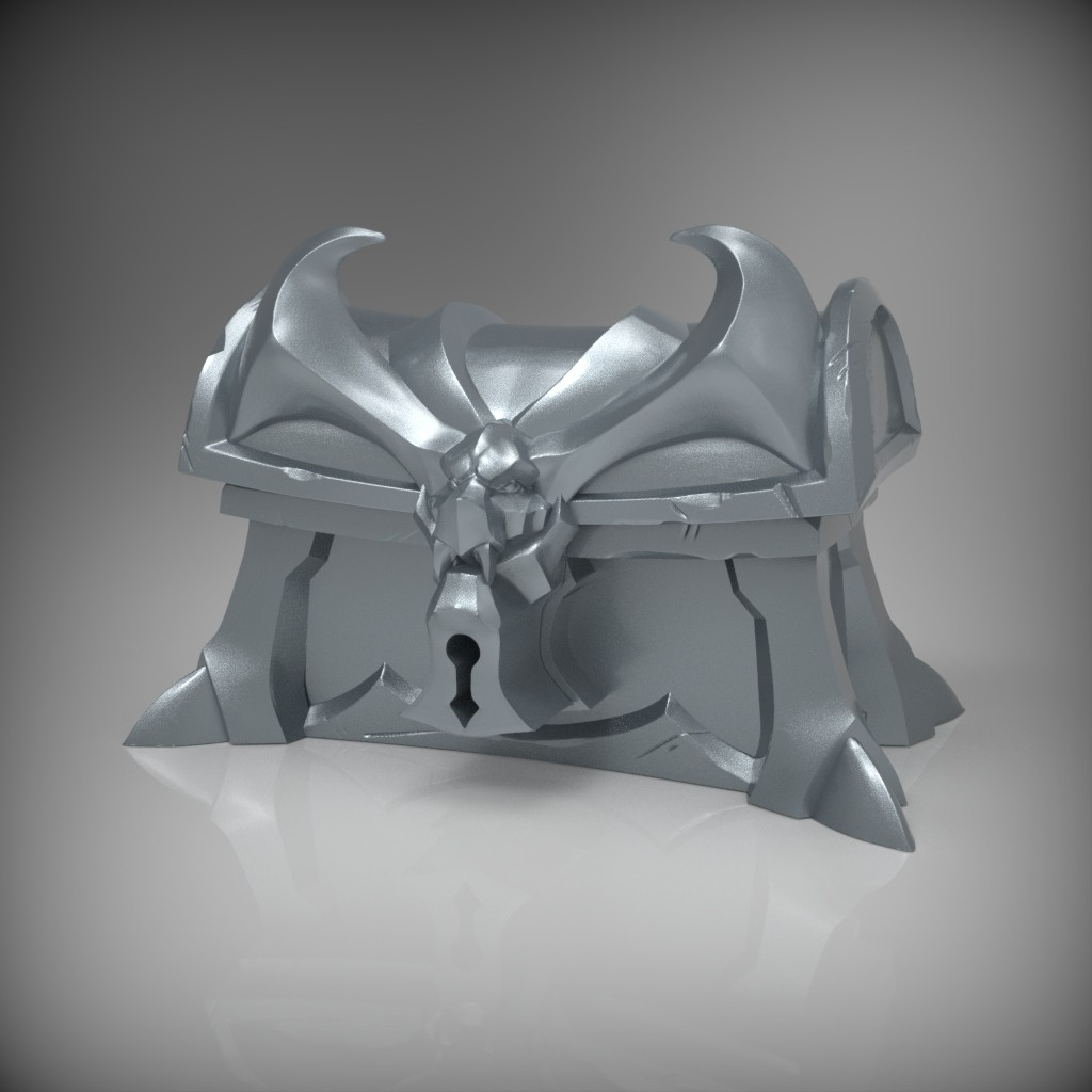 Silver Chest Sculpt