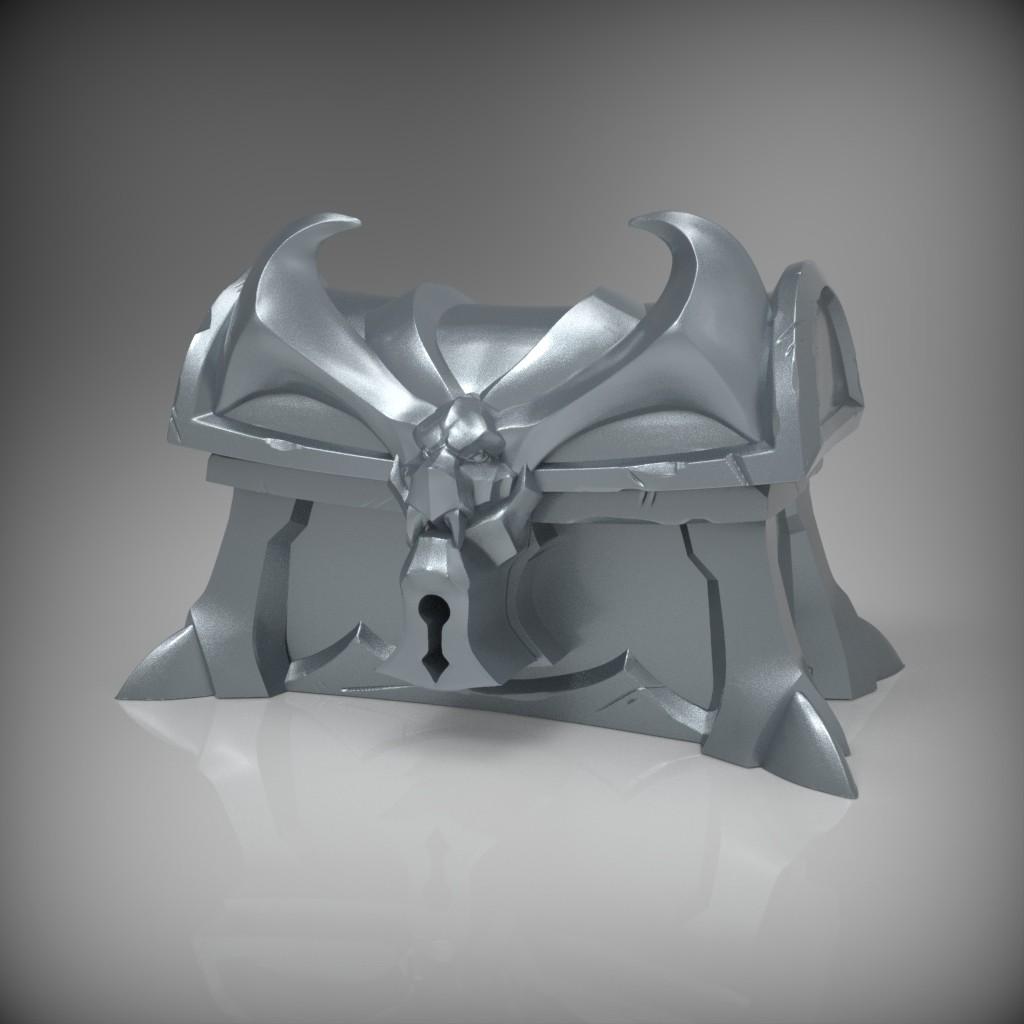 Silver Chest Sculpt