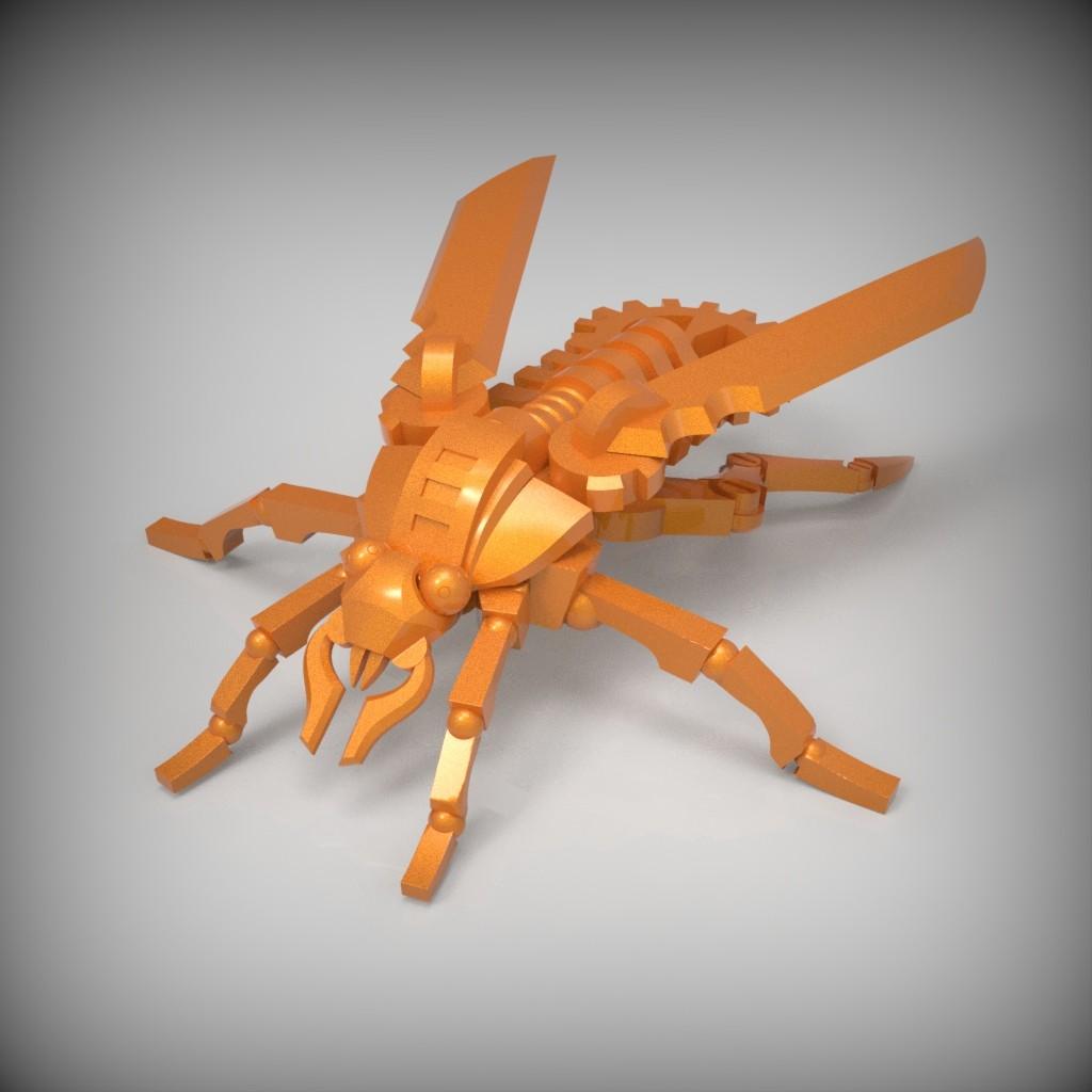 Clockroach Sculpt