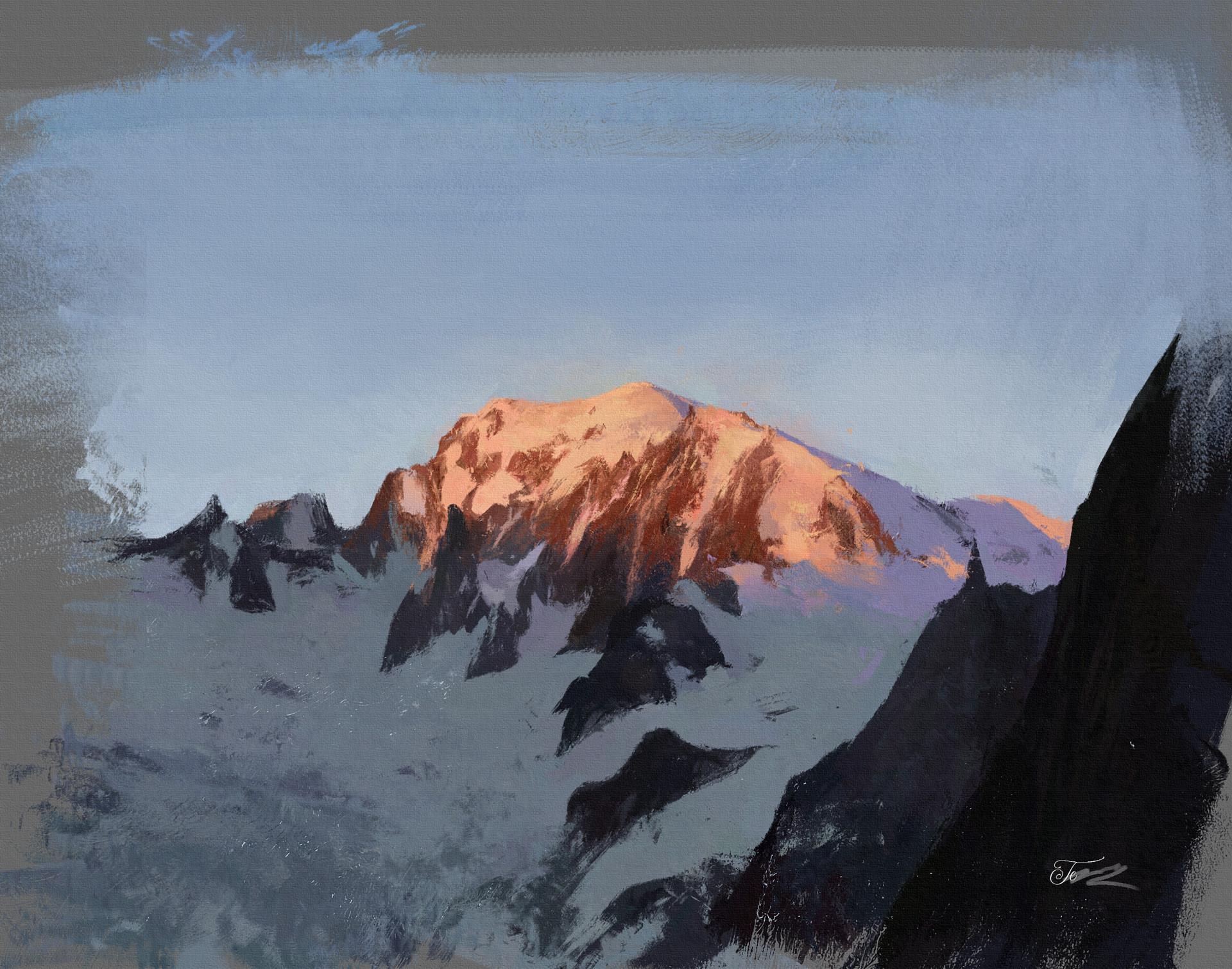 Temarius walker le mont blanc