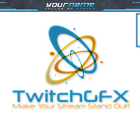 ArtStation - Twitch stream overlay + screens, panels and alerts