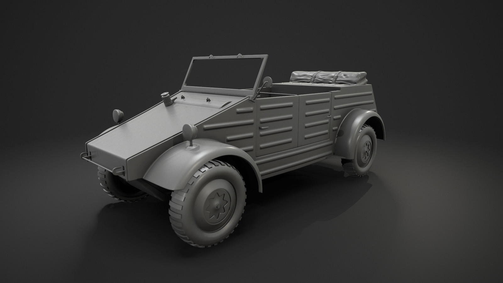 Highpoly & Wireframe