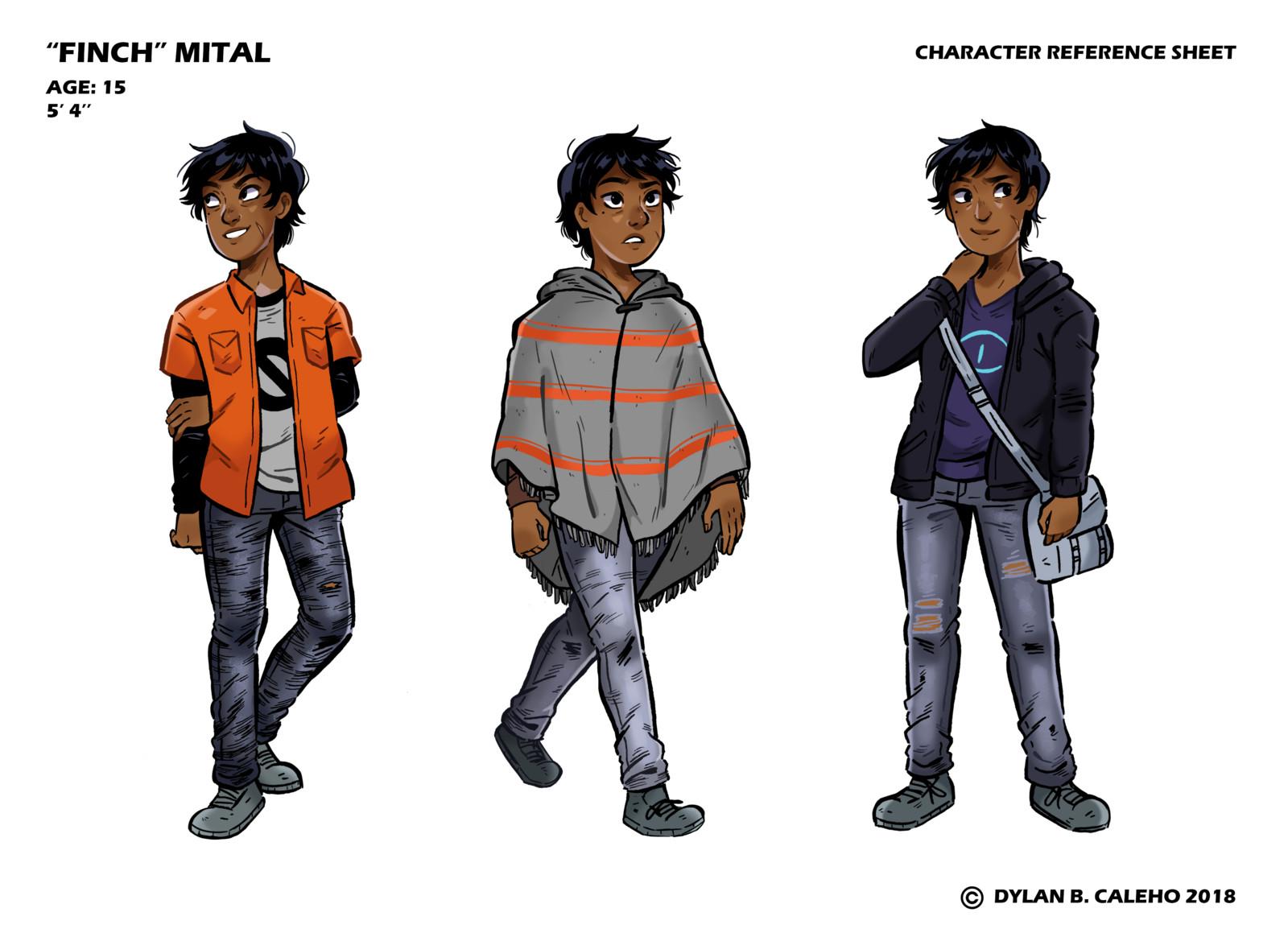 Finch Character Sheet
