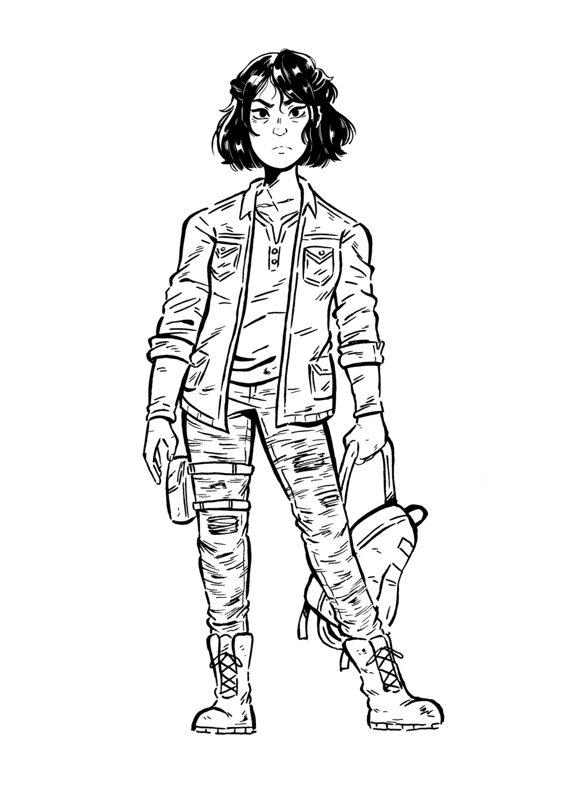 Miles Character Sketch