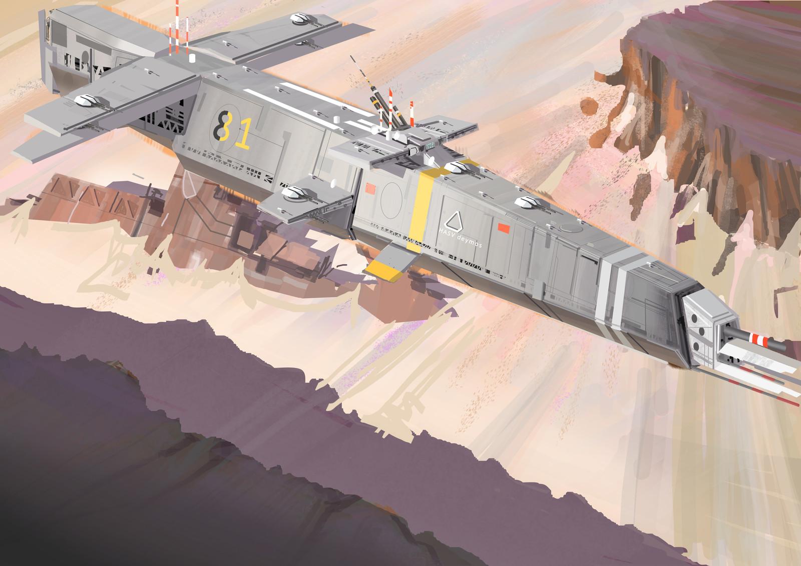 cruiser on planet TauLM27