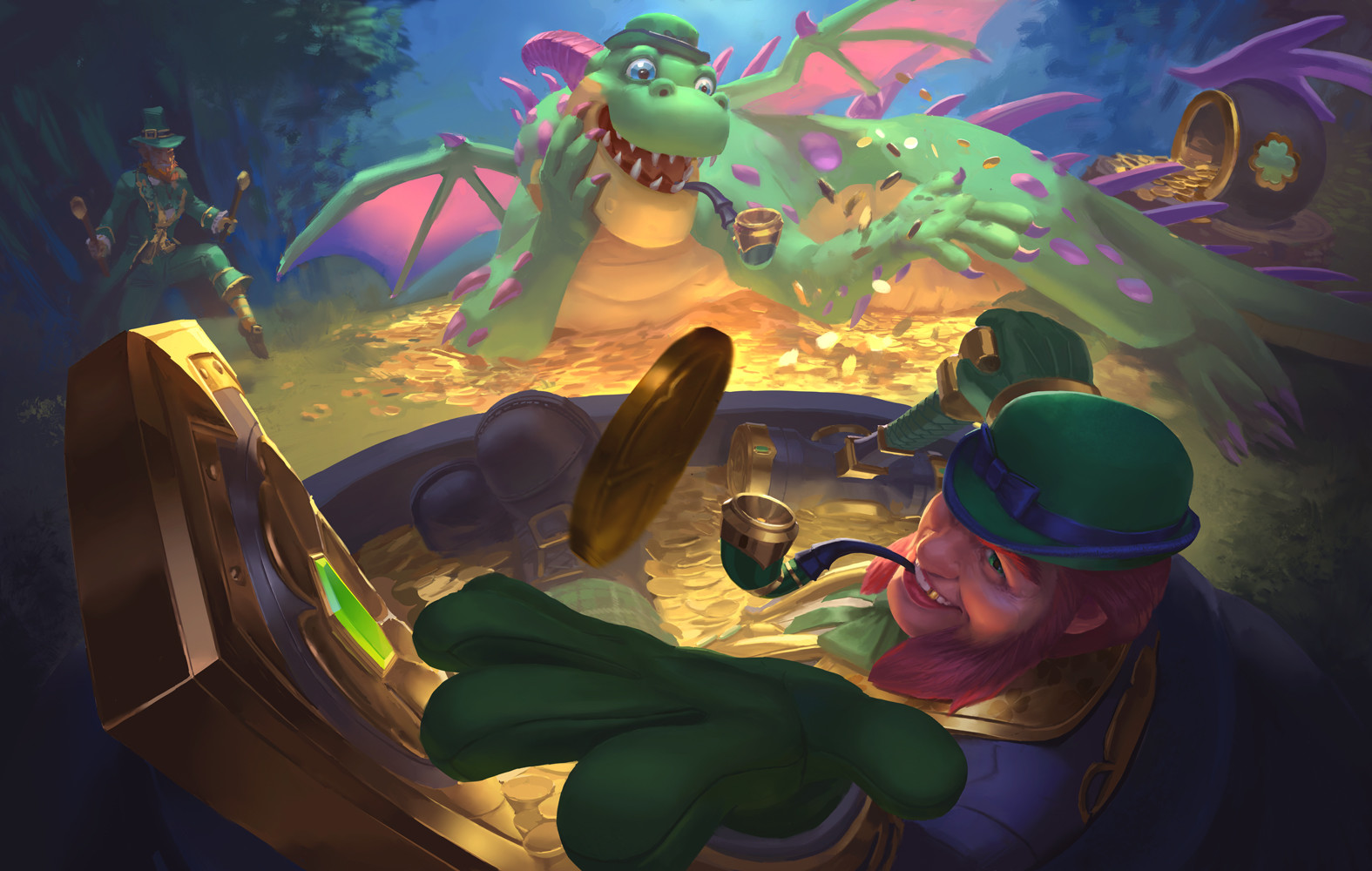 SMITE - Pot O'Gold Fafnir