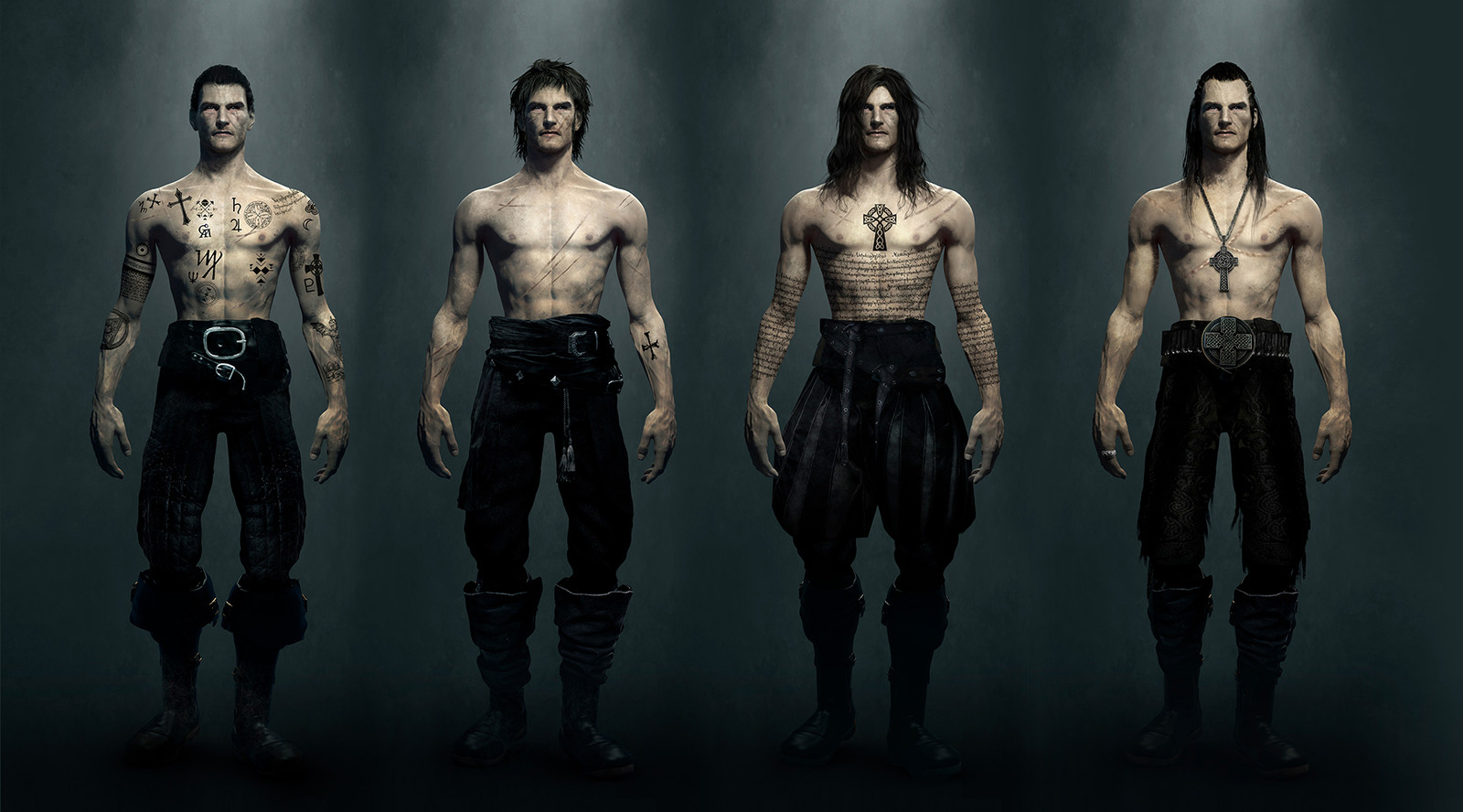 Solomon Kane - First Concepts