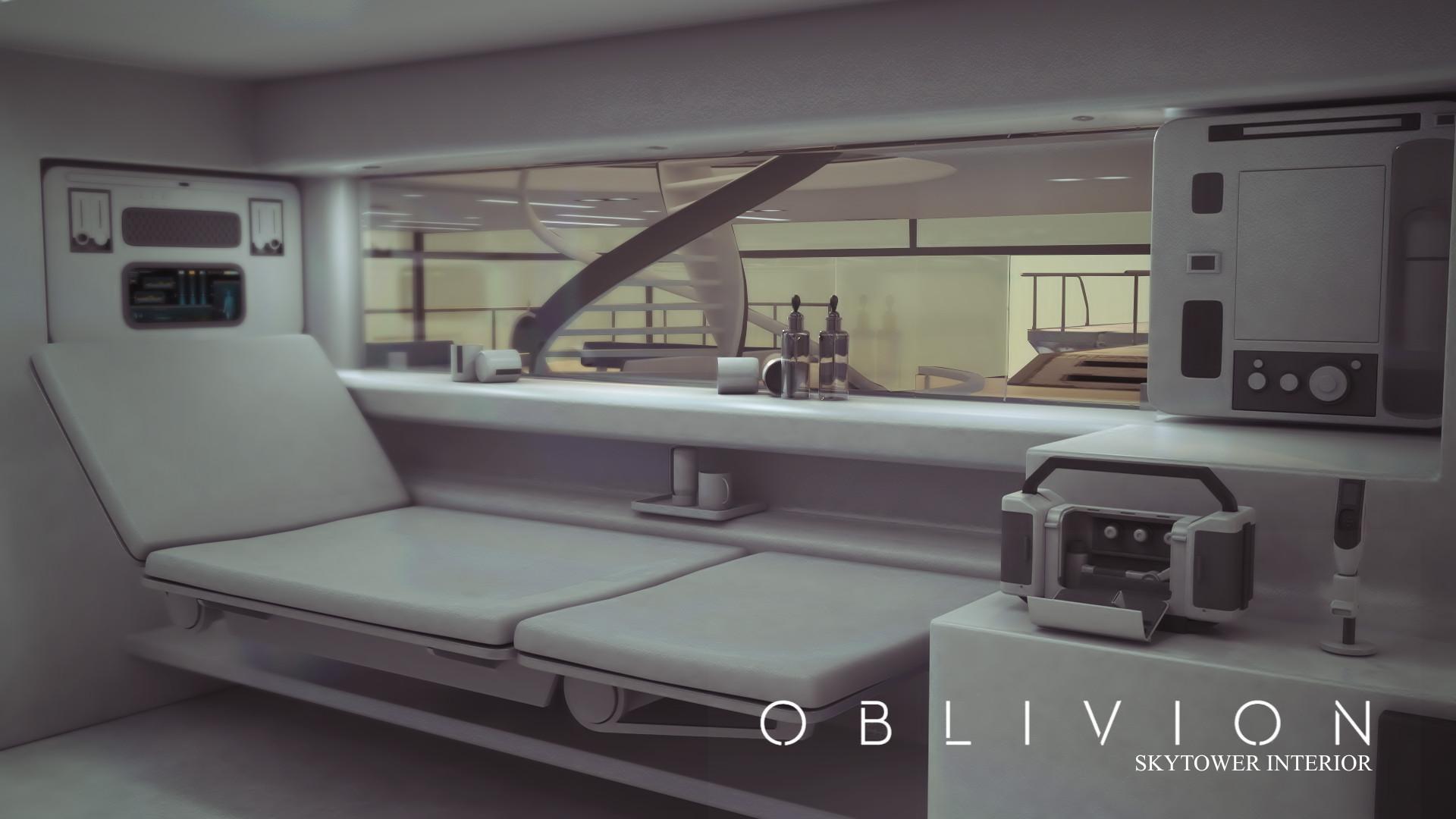 Artstation Oblivion S Skytower Interior Medical Room