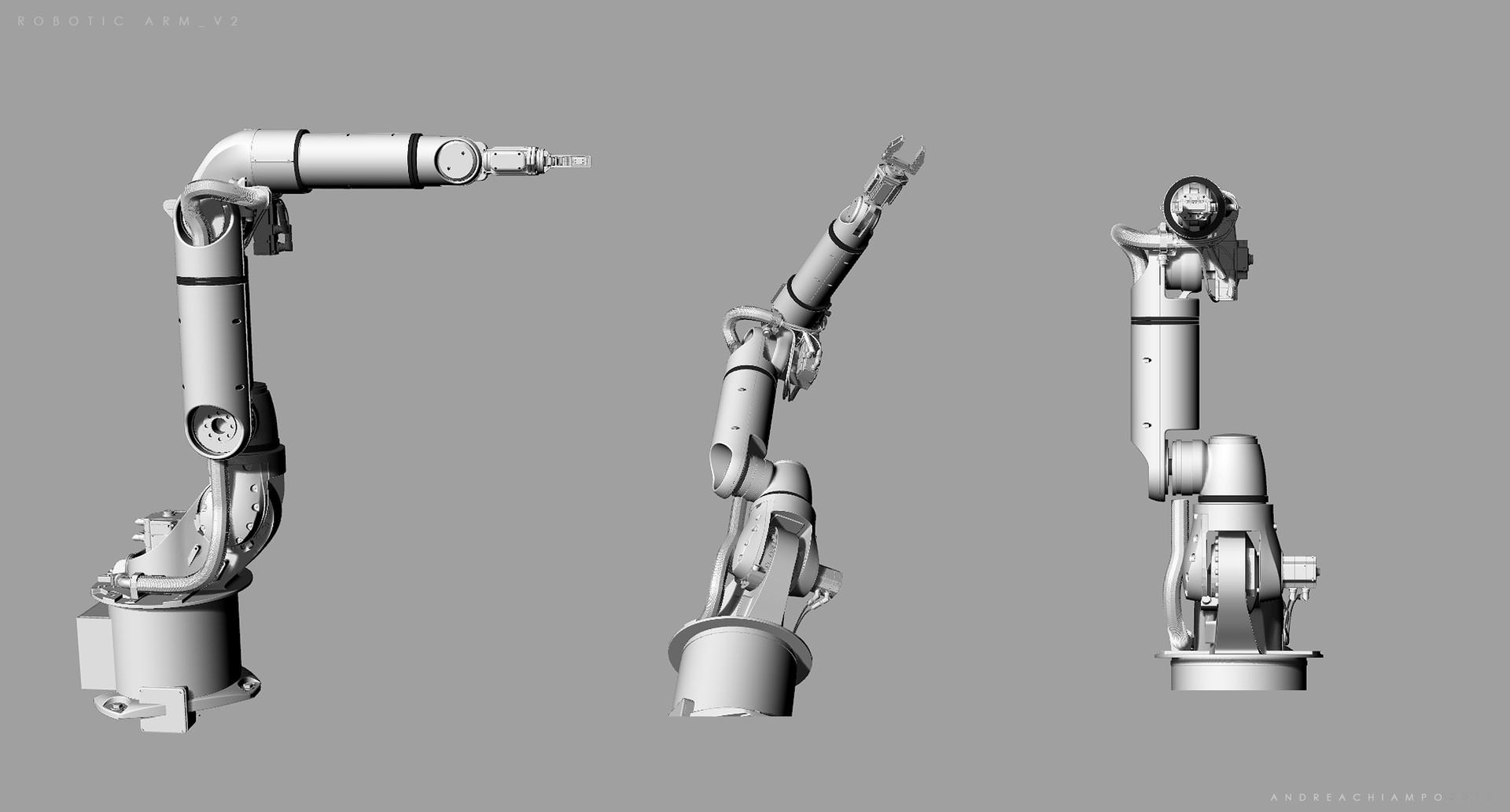 Andrea chiampo robotic arm v2 a