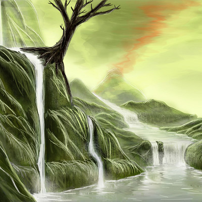 Marcel d solbach swamp no 3 by marcsolart d8pbs6u
