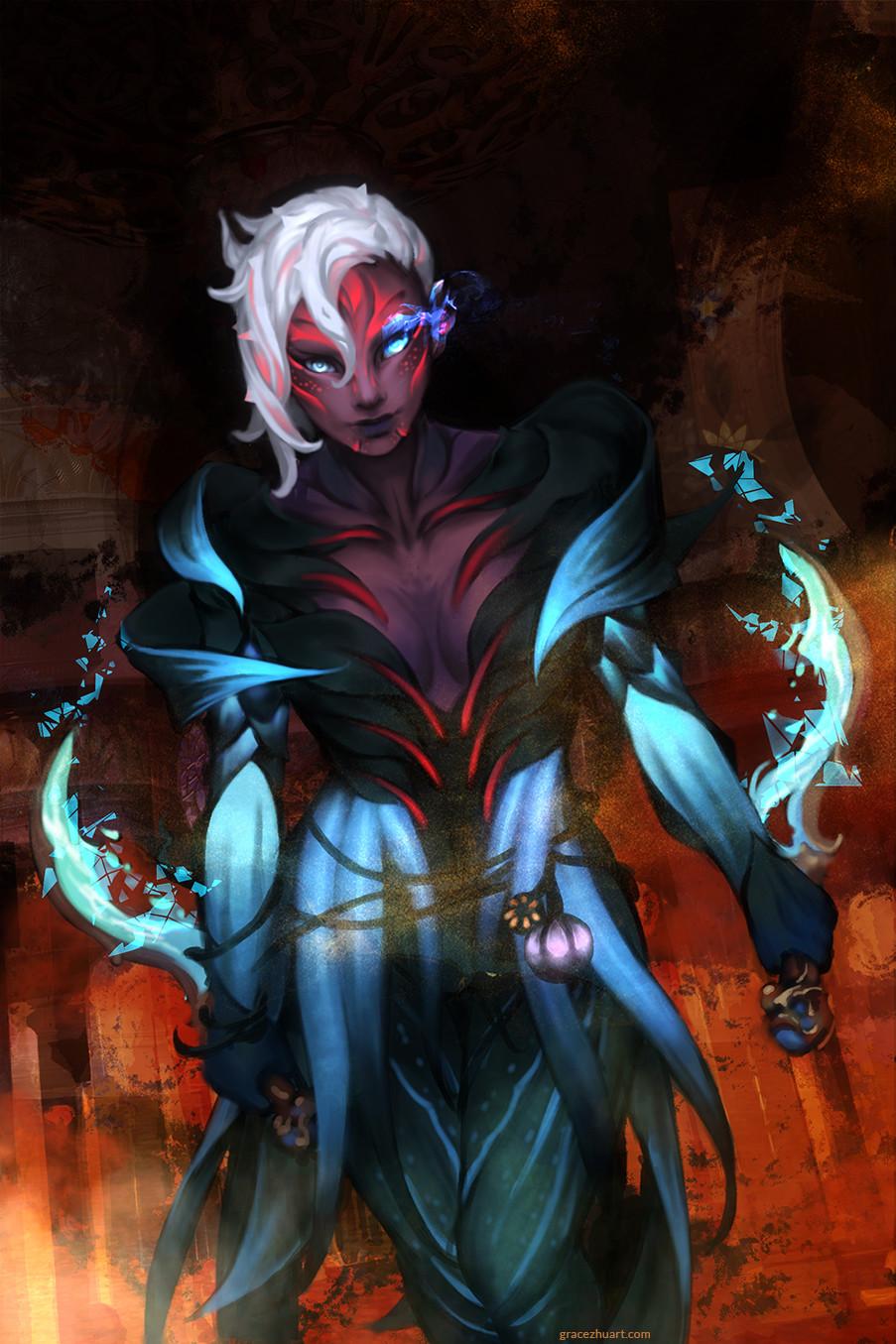Sylvari Thief Liliath