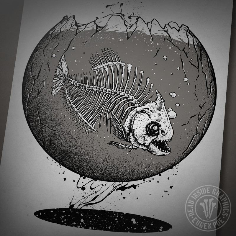 ArtStation - Fish Skeletons, Eugen Poe