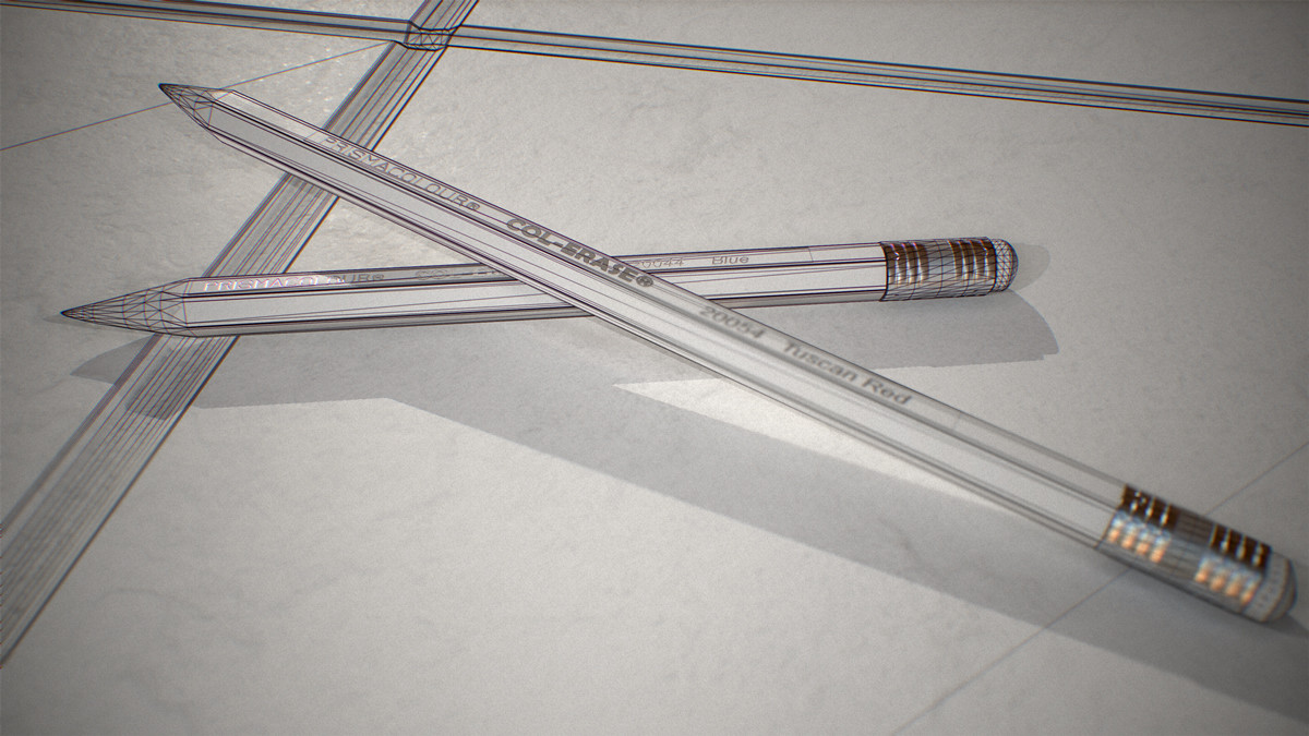 Pencil Study Wireframe