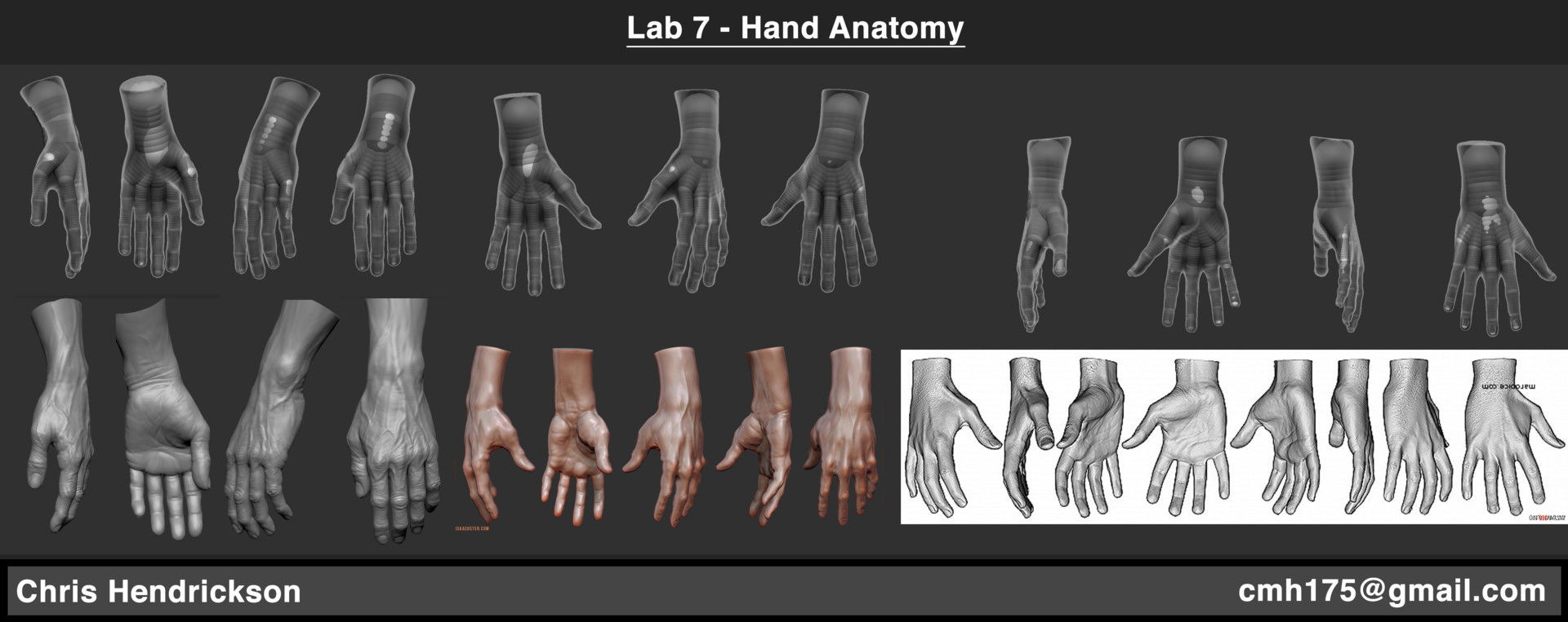 Artstation Game Character Competencies And Anatomy Studies