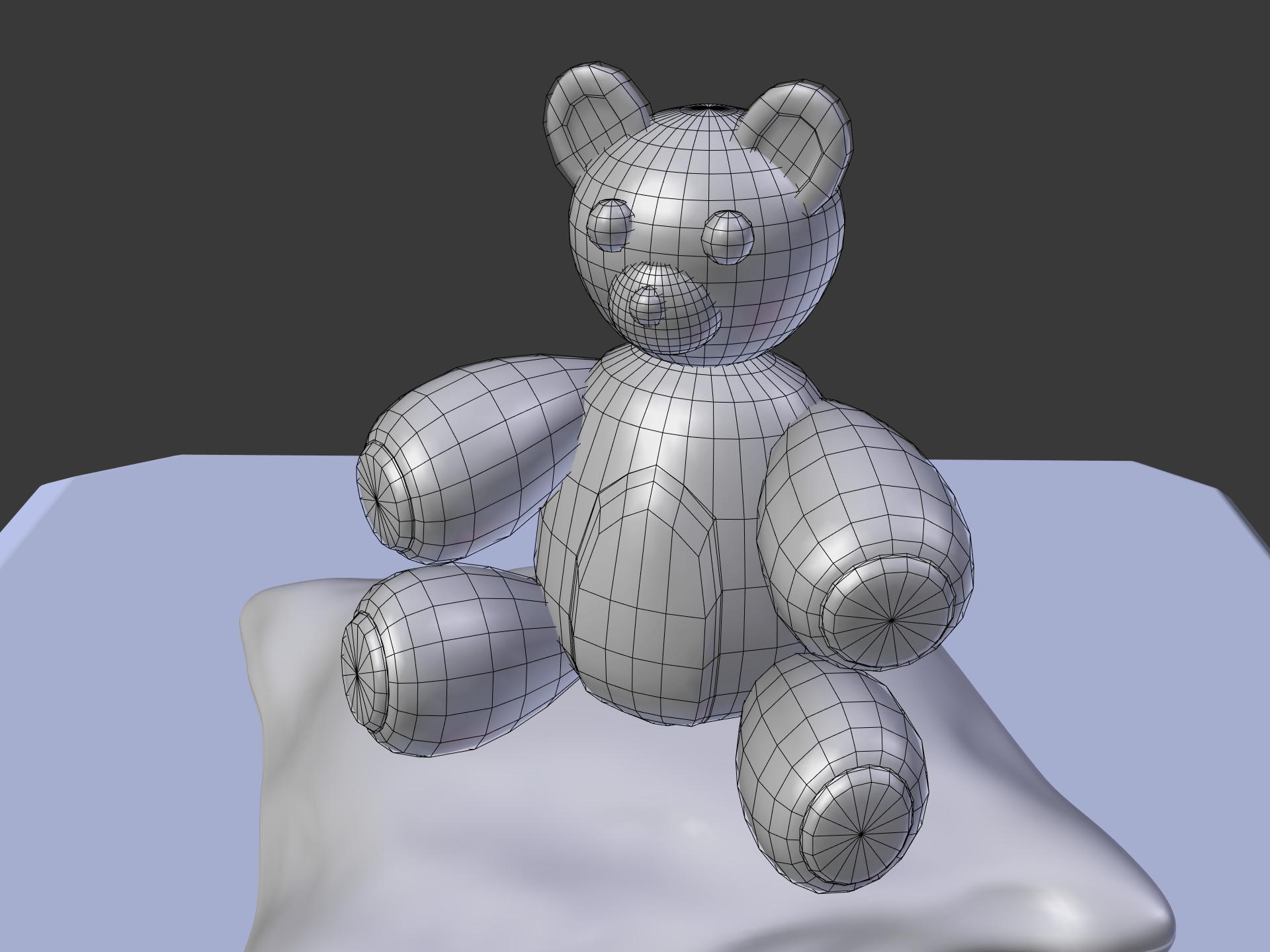 ArtStation - Teddy Bear, Adam Dodgen