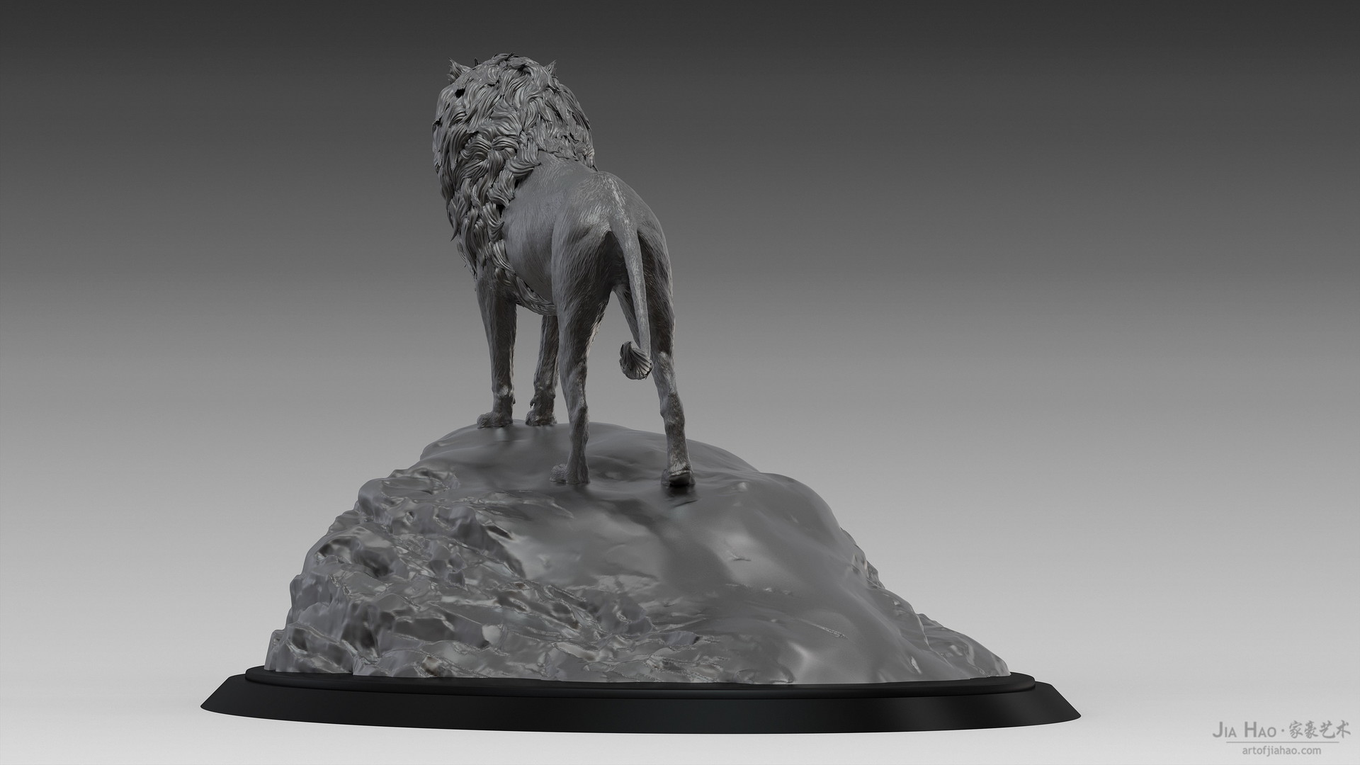 Jia hao lion digitalsculptureb 04