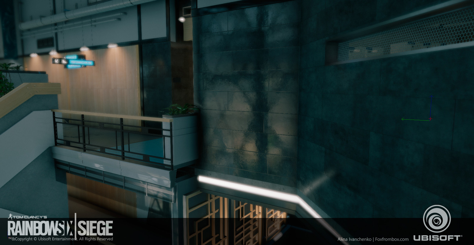 Polished Concrete texture  in game sceen