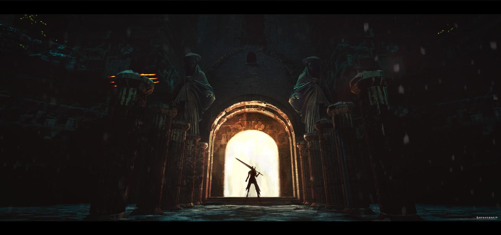 Prepare to Die - Dark Souls environment Fan Art