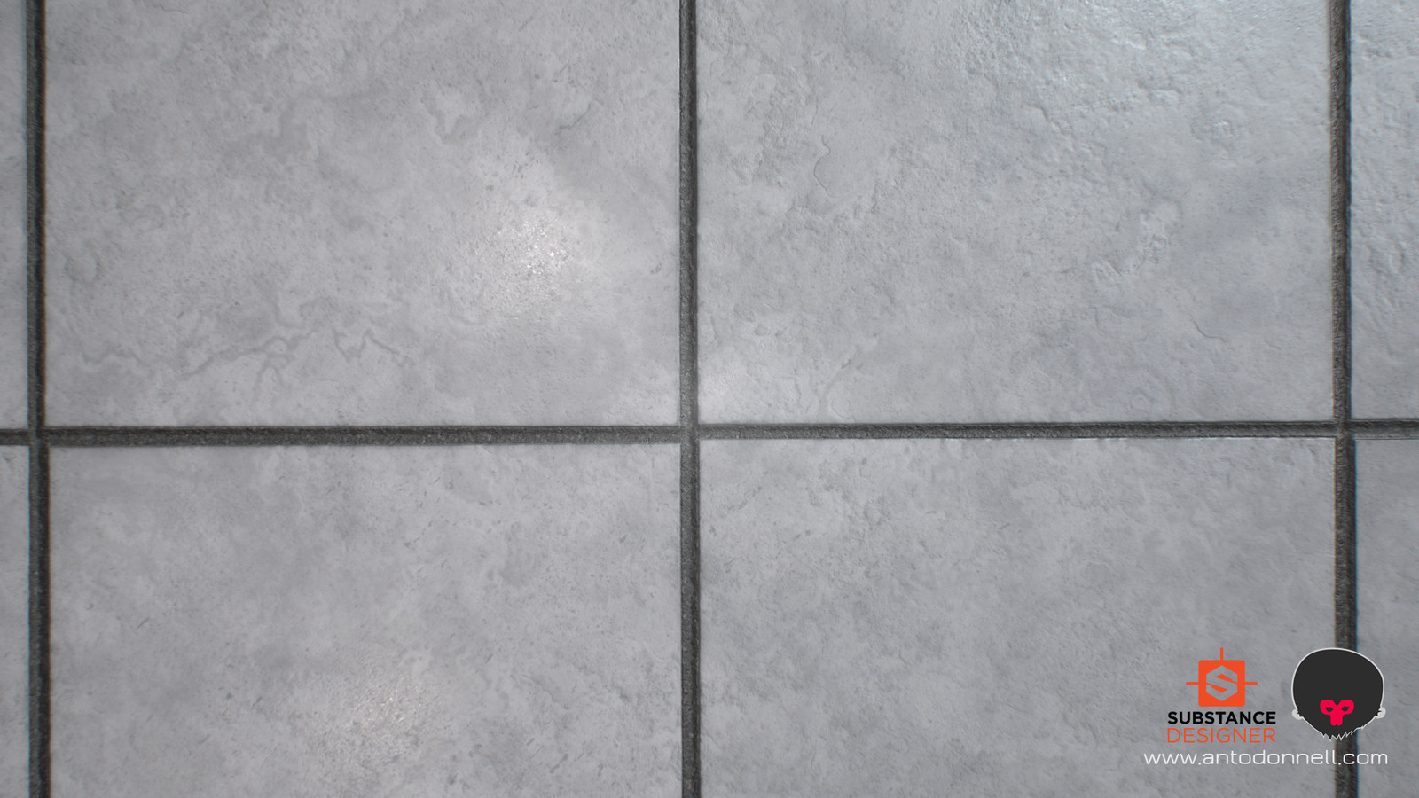 A shot of the floor tiles material