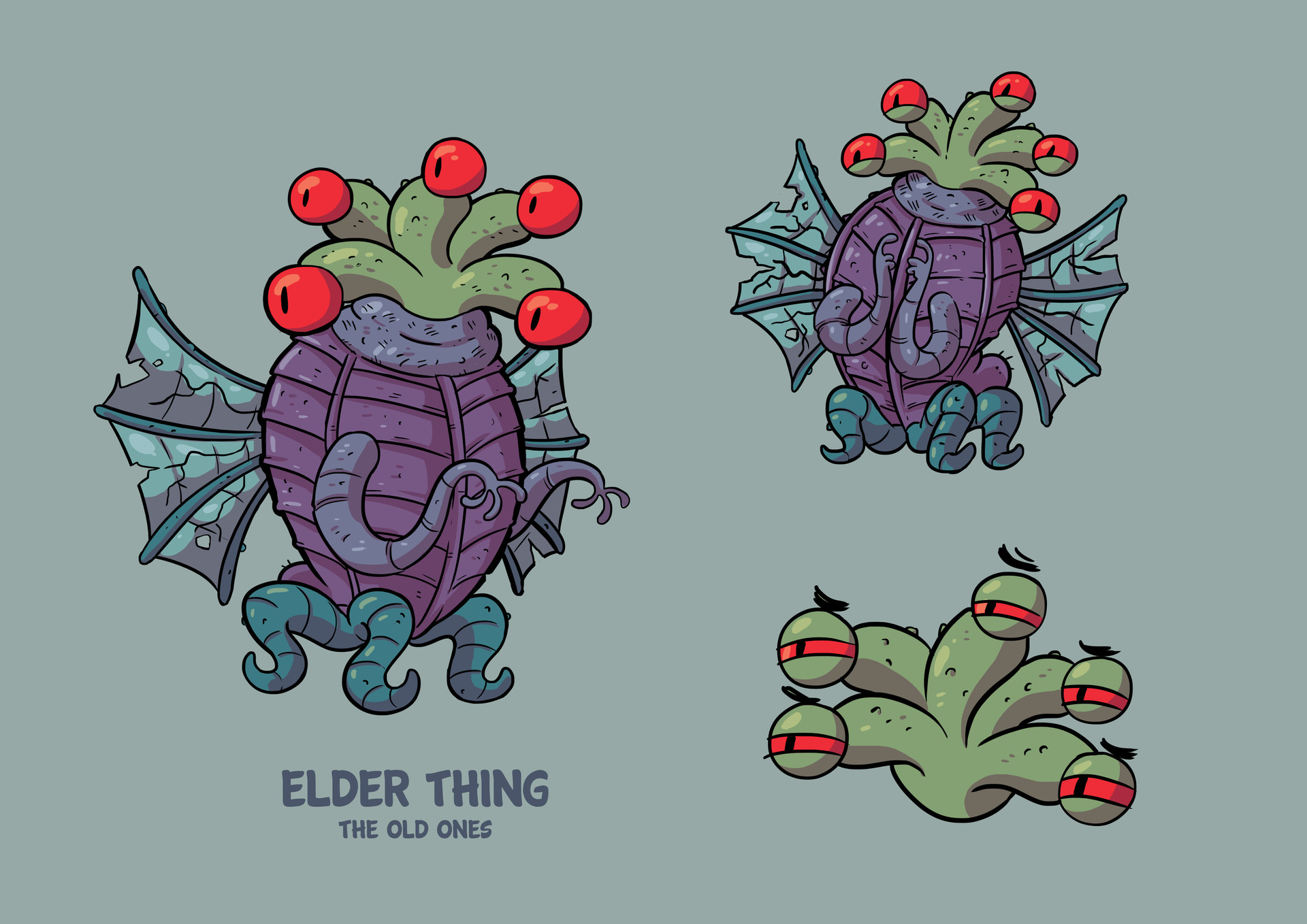 Elder Thing - The Old Ones