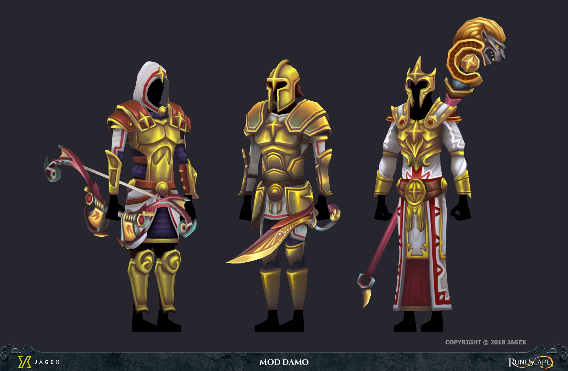Artstation Runescape Treasure Trails 2018 Character Art Damian
