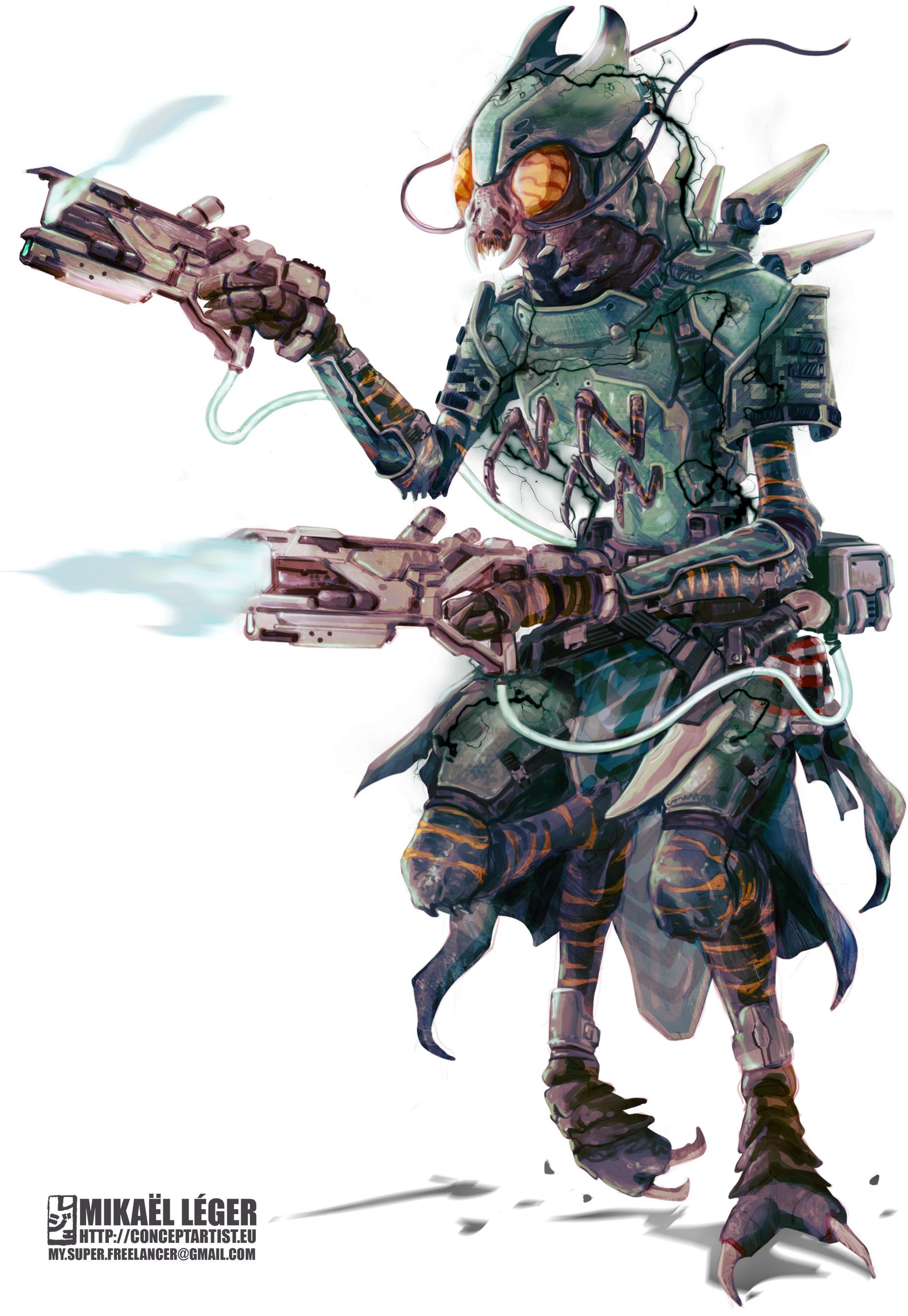 Mikael leger pzo7101 solarian dark armor