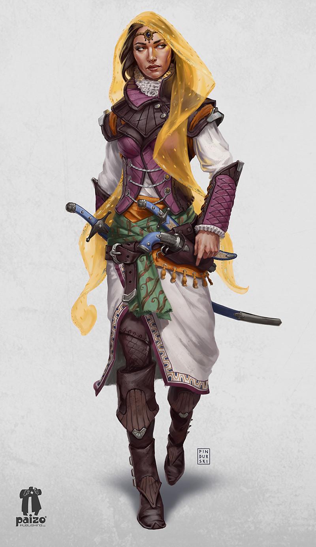 Pathfinder: Martella Lotheed by Hugh Pindur : ReasonableFantasy