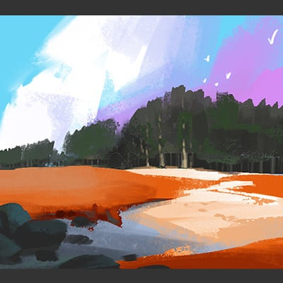 Daily Colour Sketches