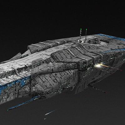 Mack sztaba jupiter cargo ship