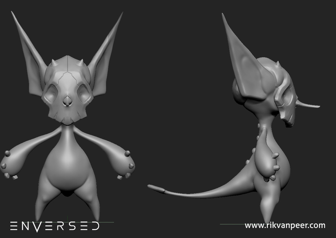 The Sculpt of the imp.