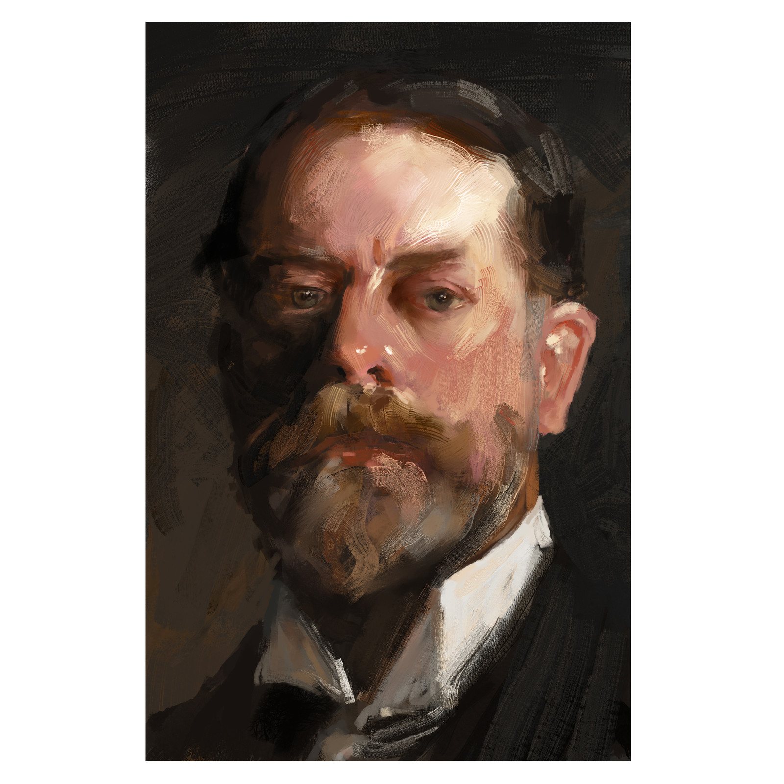 Study John Singer Sargent Portrait