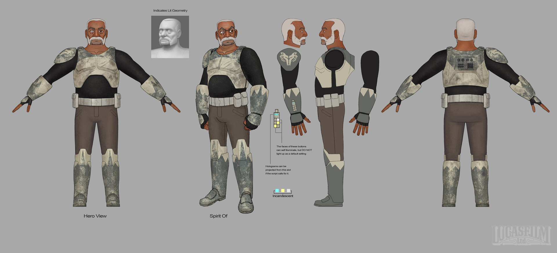 Concept Art For Clone Troopers