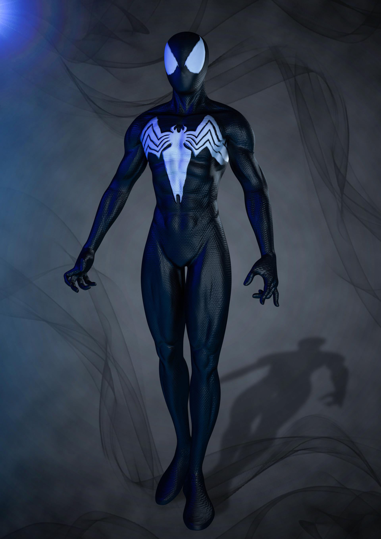 Artstation Spiderman 3d Model Yash Deval